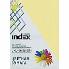 Бумага цветная Index Color, 80гр, А4, бежевый (54), 100л